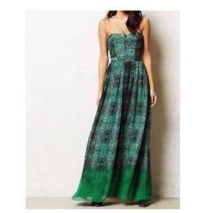 Moulinette Soeurs vernalis snake maxi dress